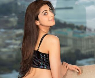 Pranitha Subhash bra size